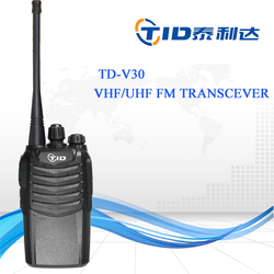 TD-V30 Factory direct sale walkie talkie portable rugged configurations conve