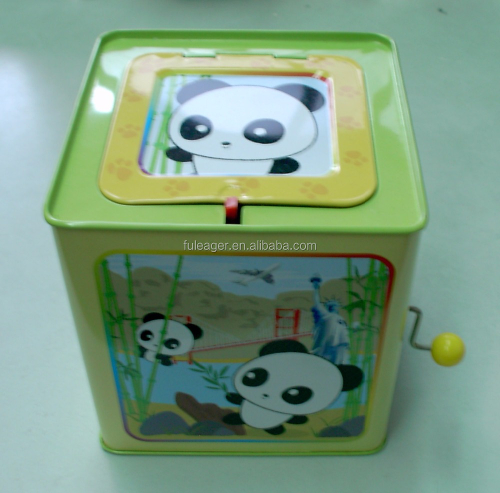 <strong>A008</strong> Jack in a box; Jack in the tin box plush toy