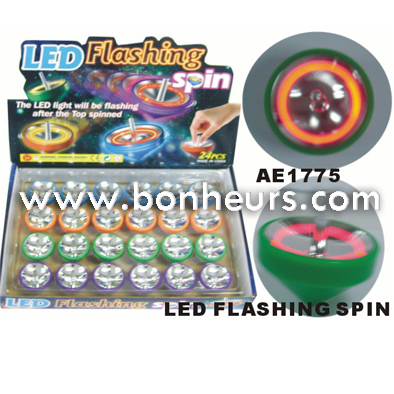 2016 Novelty Toy Led Flashing Spin Top