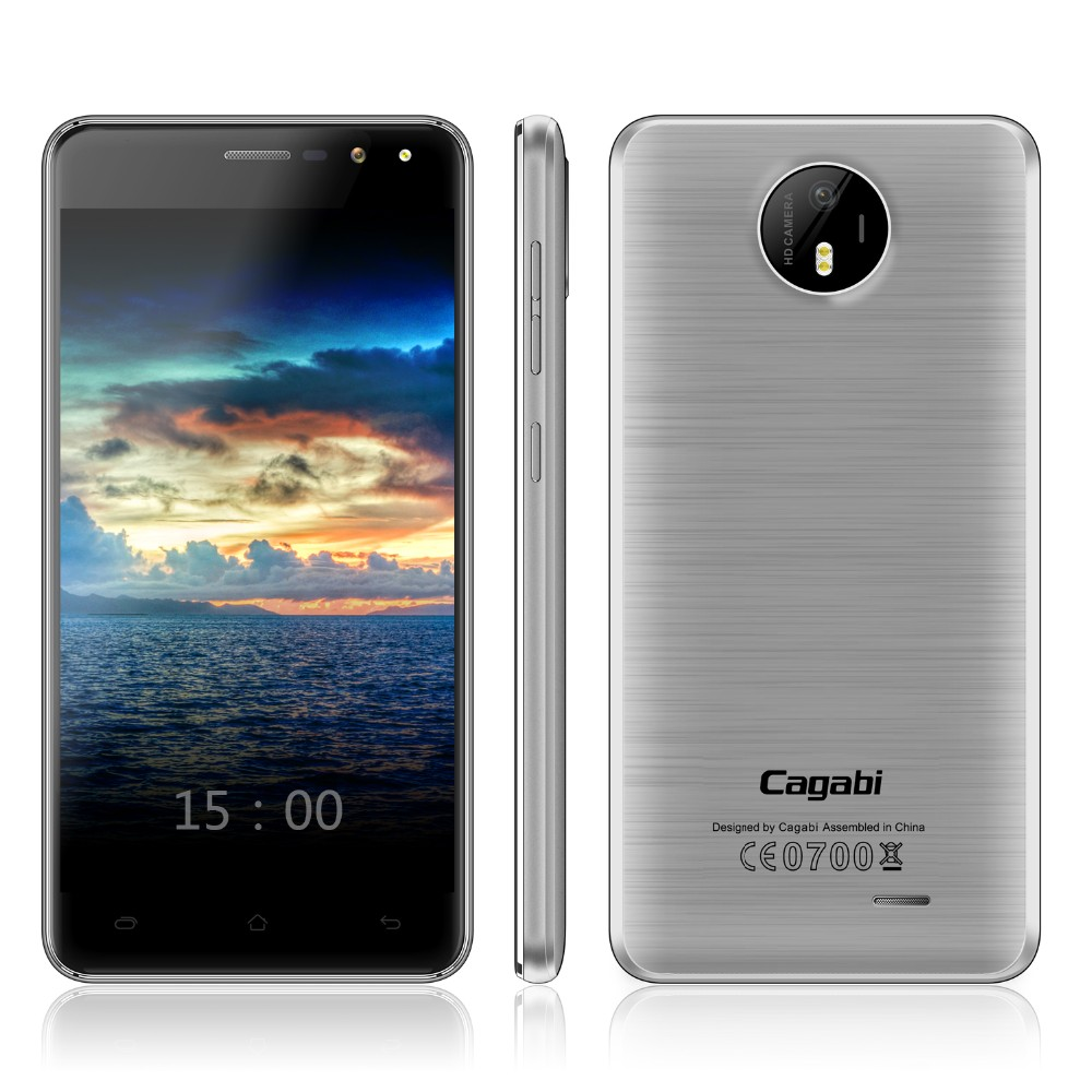 Cagabi One - Cheapest High Quality 4G Cheap Phone 5inch Screen Android 6.0 Smartphone Ram2G Rom16G Low Price China Mobile Phone