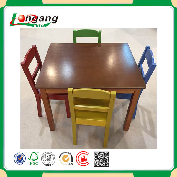 2016 hot sale folding dining table set for kids dining room furniture