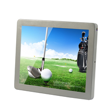 12.1 Inch Wall Mounted Touch Screen Kiosk PC Kiosk