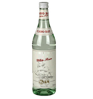 White Rum 0.7 litre / 700ml glass bottle - 37.5% vol. Origin: Germany