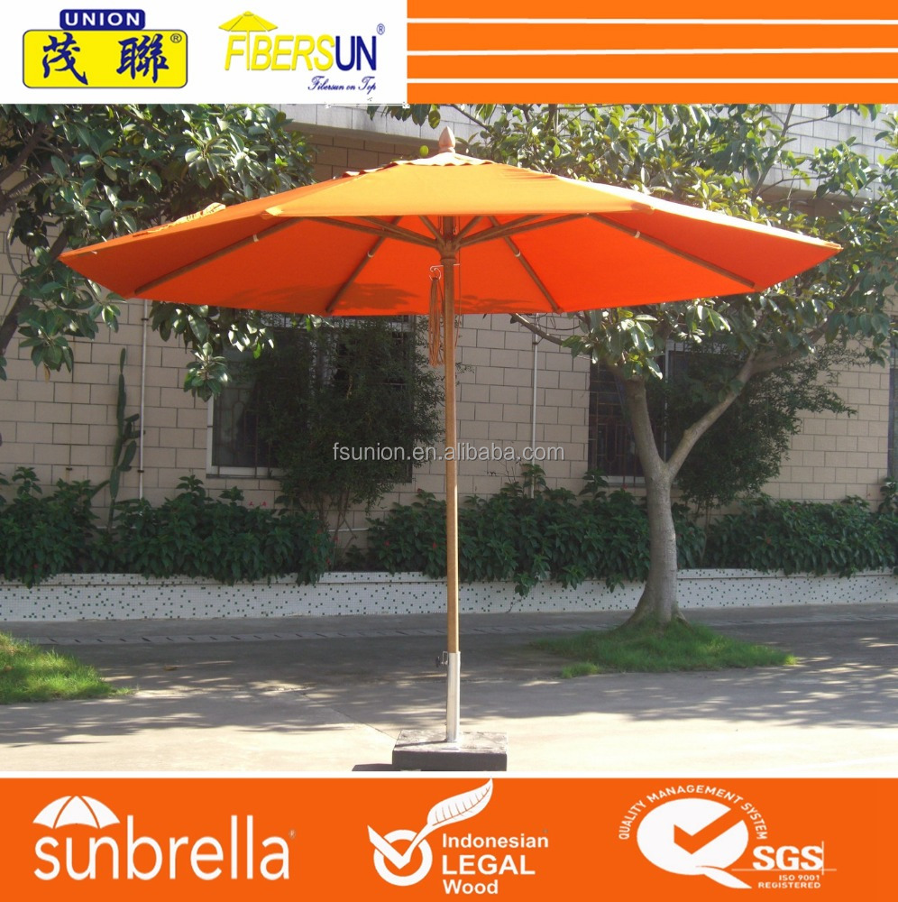 Fiberglass Hotel Umbrella/Outdoor Beach Umbrella/Garden Furniture