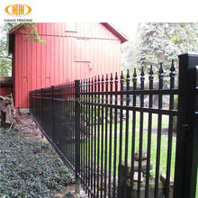 Cheap Antique Hot Dipped Galvanized Iron Steel Palisade Fence price