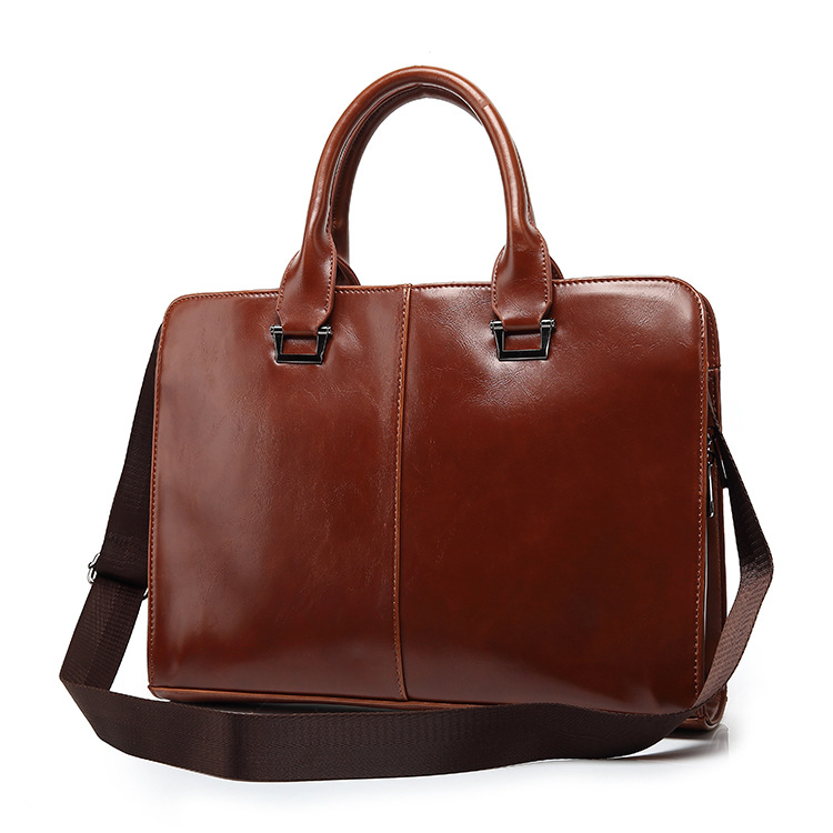Hot new products for 2016 executive men briefcase leather