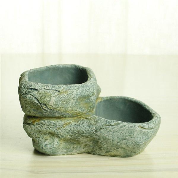 Wholesale cheap decorative small planter indoor cement flower pots