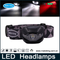 High power led headlamp with SOS and signal red light bright led head lamp use for outdoor activities