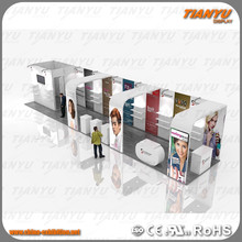 exhibition stand display for cosmetics