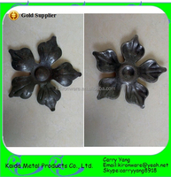 Hebei, China Wholesale Wrought Iron Ornamental Stamped Metal Flowers