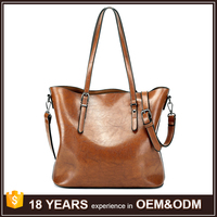 Small Order Accepted Amazon PU Leather Tote Handbags on Sale