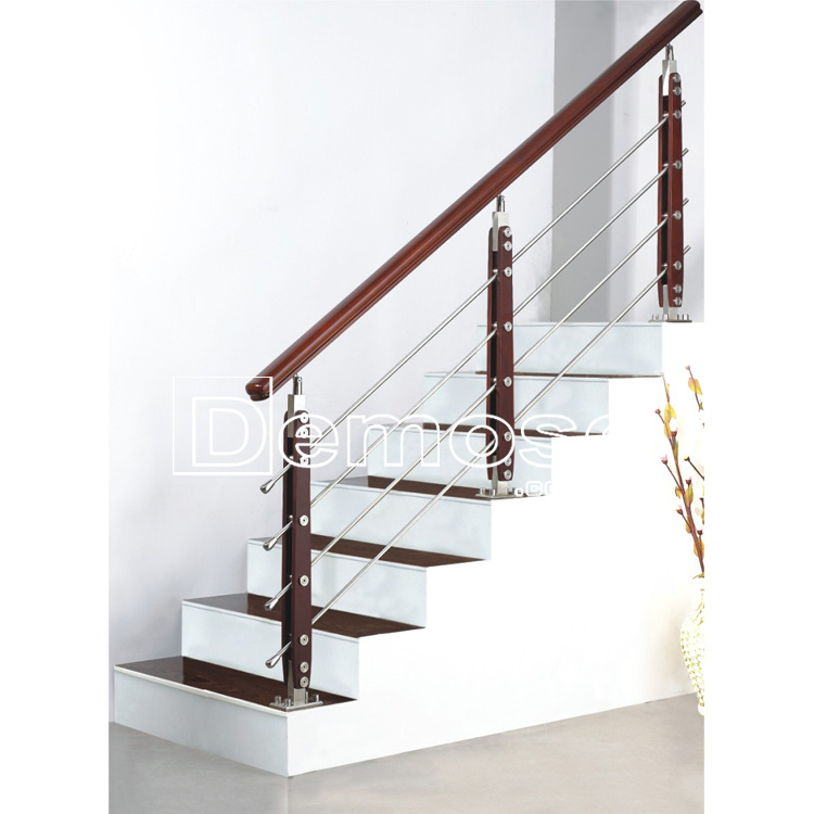 design stainless steel stair railing post/pole/baluster