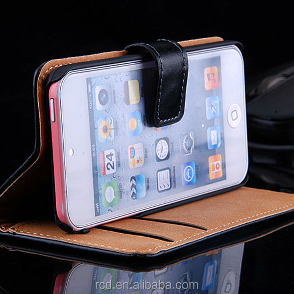 Leather Case With Belt Clip For iPod Touch, For iPod Touch 5 Genuine Leather Case , Cover For iPod Touch 5