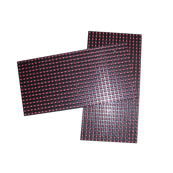 Factory price <strong>P10</strong> single red color outdoor DIP led module 320x160mm led panel led screen for commerical <strong>advertising</strong>