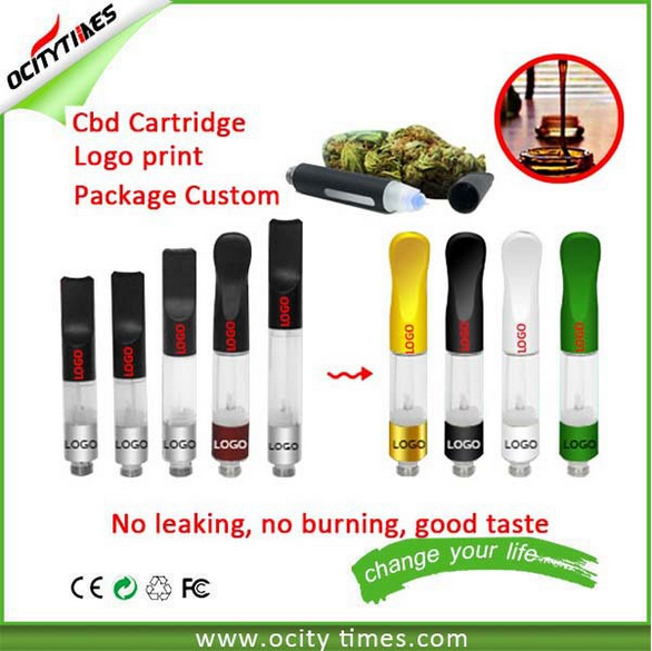 2016 classical oil cartridge vape 1ml cbd oil e cig Touch Pen Custom Logo 510 oil vaporizer empty cartridge