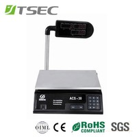 Yiwu Electronic acs-30 acs series digital Price Computing Scale for Market useage or Household