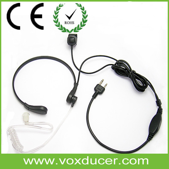 Throat Activated Microphone for Motorola T270 T280 T289 T4800 T6200 MR356R MJ430R MC220R