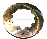 China Drilled and Slotted auto spare brake disc rotor