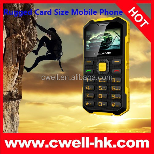 Melrose S2 Rugged Card Size unlocked cell Phone