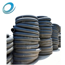 1 inch 1.5 inch 2 inch polyethylene corrugated plastic spiral hose conduit flexible accordion hdpe pipe rolls price list