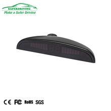 Auto Electronics car parking sensor system with 4pcs radar and in-built buzzer best for reversing warning and assistance