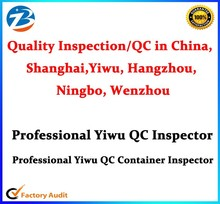 China Yiwu Professional QC Quality Inspection Servives Container Inspector