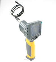Digital Endoscope, Waterproof LCD Borescope Videoscope Inspection Camera, 3.5inch Color LCD Screen