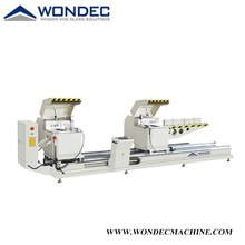 Aluminum Profile CNC Double Head Precision Cutting Saw About China Saw