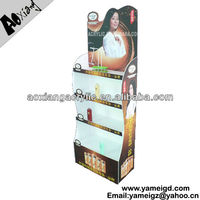 bottle cardboard display