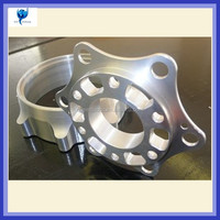 Aluminum motorcycle engine part