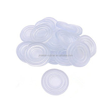 customized silicone spacer conductive clear silicone rubber bumper pads for glass table