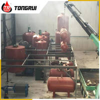 DIR 80%-90% output recycling waste used lubricants engine oil recycle machine
