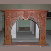 Arched Fireplace Surround Marble Decorative Fireplace Mantel SF20