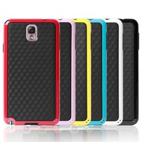 Double Color TPU Case for galaxy note 3 Hornet Series Skin Soft Case