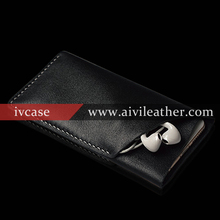 Premium colorful Cowhide Leather Pouch / Sleeve Case for Apple iPhone 6S plus, Leather Phone Case For Iphone 6s plus