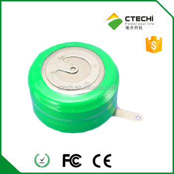 NI-MH button cell battery 330mAh 1.2V