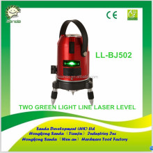 TWO GREEN LIGHT LINE LASER LEVEL