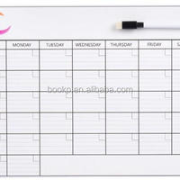 Custom Guangzhou Factory Monthly Dry Erase