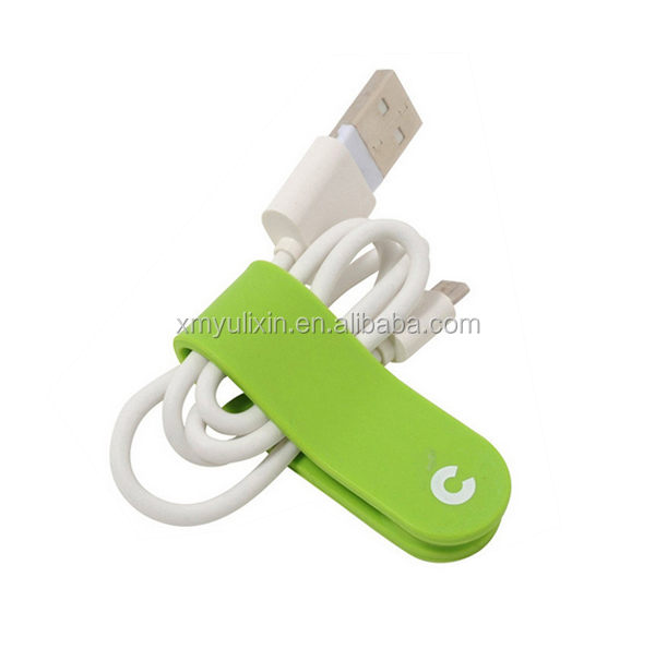 Useful magnetic silicone cable winder