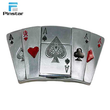 Make your own customized metal four kinds color poker card bottle opener