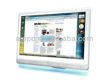 18.5inch All-In-One computer monitor with wireless keyboard & mouse
