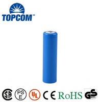 Premium Cycle Life Rapid Chargeable li ion 2000 mAh 3.7V~4.2V Recahrgeable 18650 Battery Pack For Torches