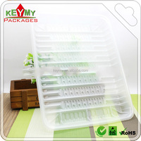 Custom PET Clear Vegetable Fruit Plastic Food Tray,wholesale clear plastic disposable food tray