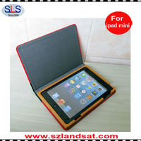 2015 new product book leather case for ipad mini IBC23A