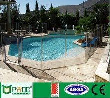 Modern best selling clear tempered glass pool fence uk