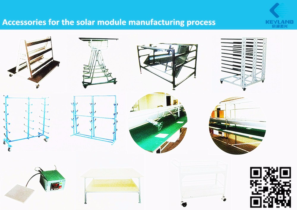 Keyland Solar manufacturing plant machinery for solar panels producing line machine