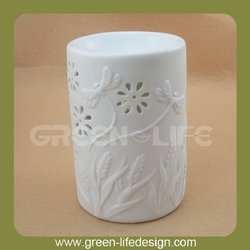 2014 new white column electric essential oil burner for wholesale