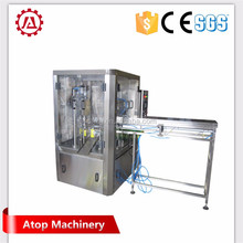 Non free flow powder packing machine bottle liquid oral filling capping machine with screw conveyor