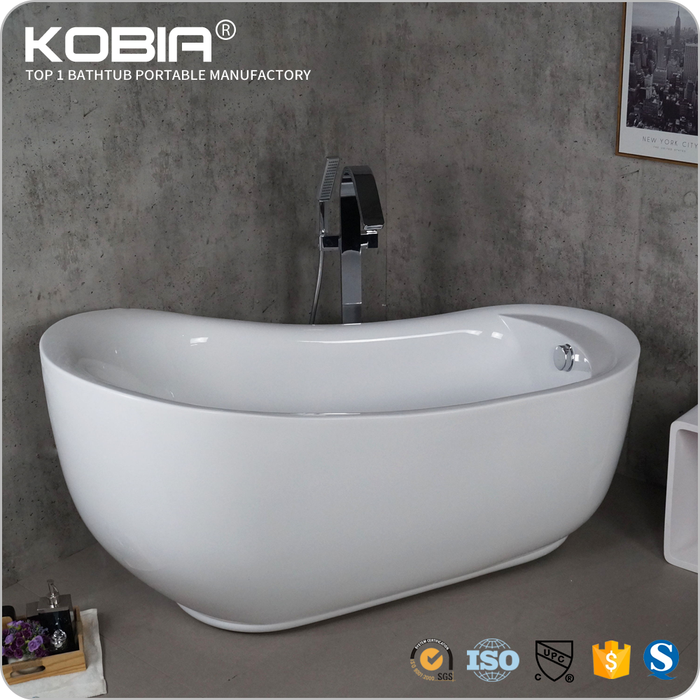 Seamless Clear Acrylic Roll Top Bath Tubs /cheap Freestanding Normal ...
