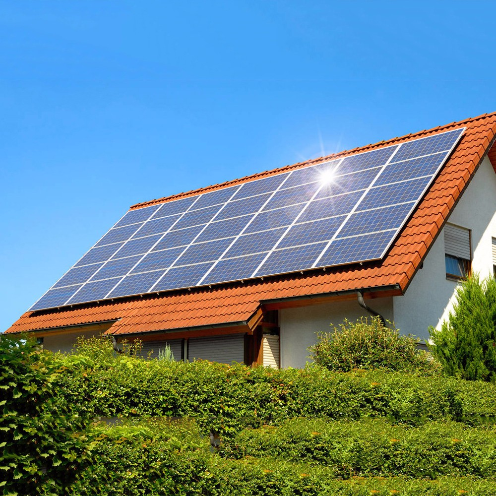 solar home system pv photovoltaic system 1000w solar panel